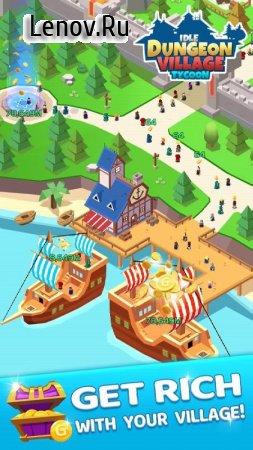 Idle Dungeon Village Tycoon - Adventurer Village v 1.3.0 Мод (Unlimited use of gold coins)