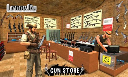 Western Cowboy Gun Shooting Fighter Open World v 1.0.5 Мод (A lot of gold nuggets/diamonds)