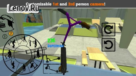 Scooter FE3D 2 - Freestyle Extreme 3D v 1.28 Мод (Unlocked)