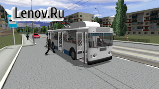Trolleybus Simulator 2018 v 4.1.4 Мод (Endless money/Disabled ads)