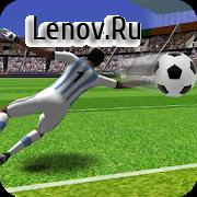 Football Flick : Kick Strike Shoot v 0.3 Мод (Money)