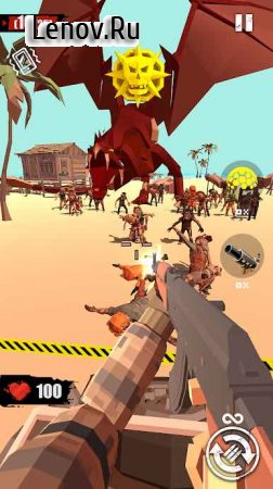 Merge Gun: Shoot Zombie v 2.7.6 Мод (Unlimited Coin/Gems)