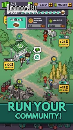 Bud Farm: Idle Tycoon v 1.7.0 Мод (Cash/Gems/Buds/Cards)
