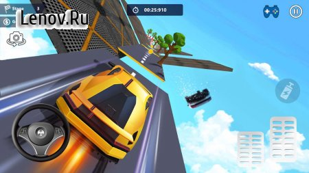 Car Stunts 3D Free - Extreme City GT Racing v 0.3.5 Мод (Unlimited gold coins/Get once and get)