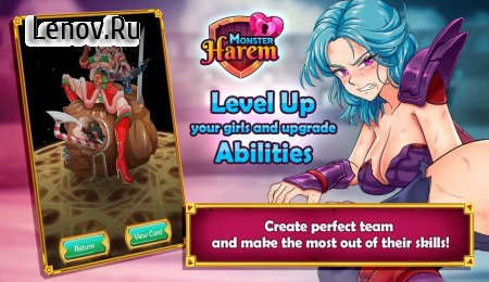 Monster Harem (18+) v 1.3.1008 Mod (Increasing Coins/Gems)