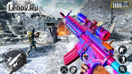 FPS Shooter Counter Terrorist v 1.5 Мод (God Mode/One Hit Kill)