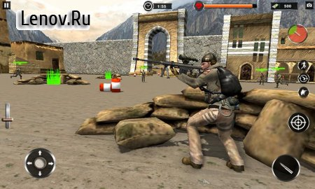 Commando Assassin Mission- Impossible FPS Game v 1.1 Мод (God Mode/One Hit Kill)