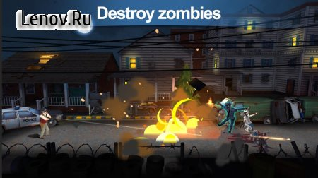 Zombie Shooter-Walking World v 1.0.25 Мод (Enemy Cant Attack/No ADS)