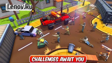 Zombie Squad: Crash Racing Pickup v 1.0 Мод (gold coins)