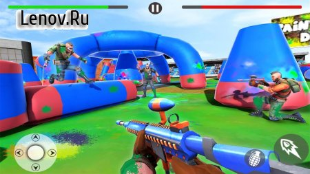 Army Squad Battleground - Paintball Shooting Game v 1 Мод (God Mode/One Hit Kill)