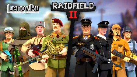 Raidfield 2 - Online WW2 Shooter v 9.210 Мод (Infinite Bullets)
