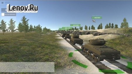 Panzer War v 2021.4.10.4 Мод (Free Shopping)