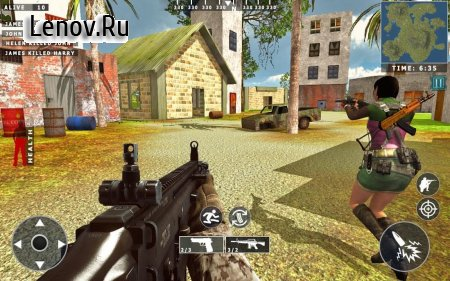 Survival Squad Free Fire 3D Battlegrounds v 1.1.3 Мод (One Hit Kill/God Mode)
