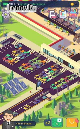 Car Industry Tycoon - Idle Factory Simulator v 1.6.5 Мод (много денег)