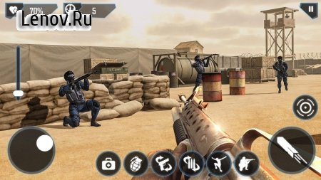 Modern FPS Combat Mission - Counter Terrorist Game v 2.8.0 Мод (Unlimited Cash)