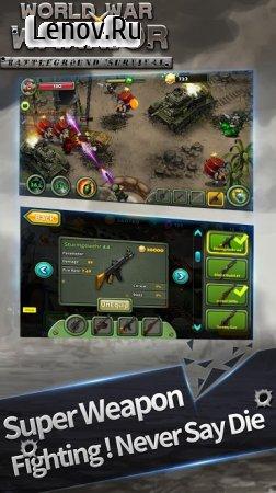 World War Warrior - Battleground Survival v 1.0.5 Мод (Unlimited Money/Coins/Gold/Gems)