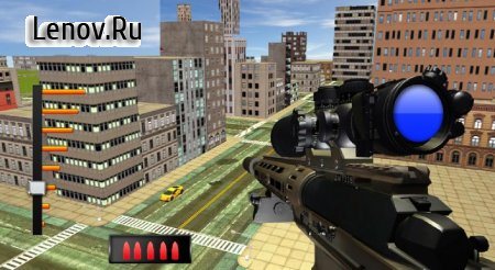 New Sniper 3D FPS Shooter v 1.0.6 Мод (God mode)