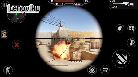 Cover Strike - 3D Team Shooter v 1.5.40 Мод (god mode/one hit/unlock all gun)