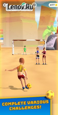 Flick Goal! v 1.82 Mod (Unlimited money/gold/Unlocked)