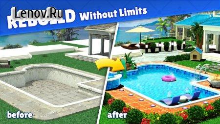 Home Design : Caribbean Life v 1.5.11 Mod (UNLIMITED COINS/GEMS)