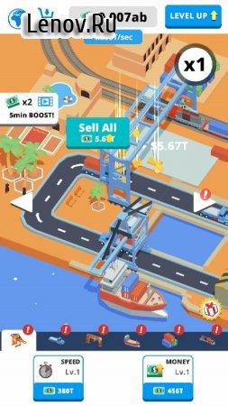 Idle Port v 2.1 Мод (много денег)