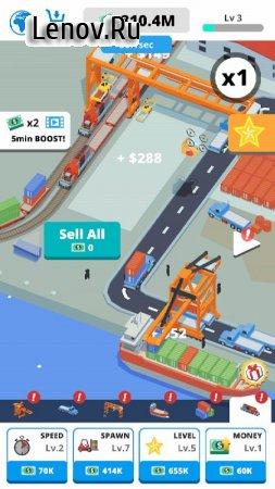 Idle Port Tycoon v 3.2 Мод (много денег)