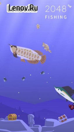 2048 Fishing v 1.10.0 Mod (Unlimited Gold Coins)
