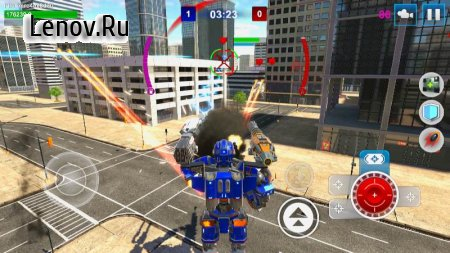 Mech Wars: Multiplayer Robots Battle v 1.413 Mod (UNLIMITED COIN/PREMIUM CURRENCY)
