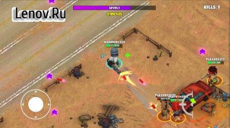 Warriors.io - Battle Royale & TPS v 5.21 Мод (много денег)