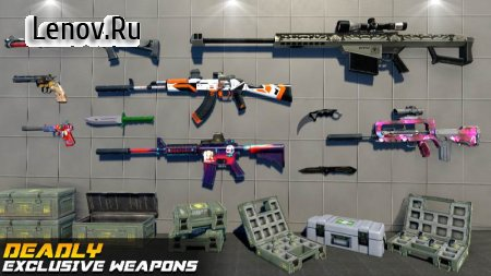 Counter Terrorist Strike: FPS Shooting Games v 1.0.5 Mod (God Mode/One Hit Kill)