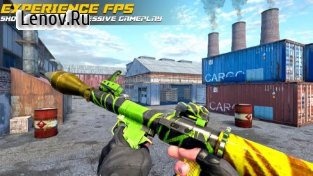 Counter Terrorist Strike: FPS Shooting Games v 1.0.5 Mod (God Mode/One Hit Kill)
