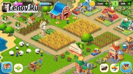 Farm City : Farming & City Island v 2.5.3 Mod (Unlimited Cashs/Coins)