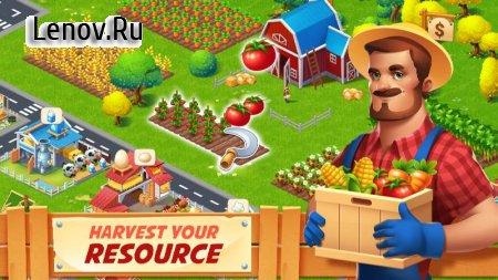 Farm City : Farming & City Island v 2.1.6 Mod (Unlimited Cashs/Coins)