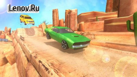 Hill Car Stunt 2020 v 1.15 Mod (A lot of gold coins)