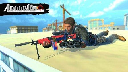 Free Firing Shooting Games: Elite Gun Shooter 3D v 1.0 Mod (God Mode/One Hit Kill)