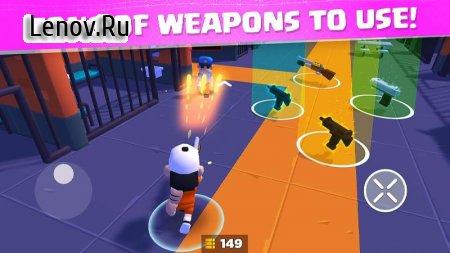 Prison Royale v 0.0.4 Mod (Immortality/High damage/Endless ammo)