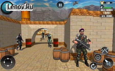 FPS Modern Commando Critical Strike 2019 v 1.2 Mod (God Mode/One Hit Kill)