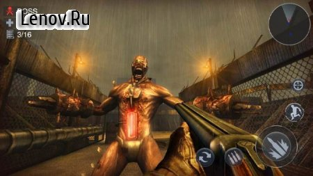 Zombie 3D Gun Shooter- Real Survival Warfare v 1.2.5 Mod (God Mode/One Hit kill)
