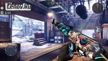 Zombie 3D Gun Shooter- Real Survival Warfare v 1.2.7 Mod (God Mode/One Hit kill)