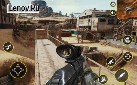Call of battle Survival Duty Modern FPS strike v 1.0 Mod (Invincible/ads remove)