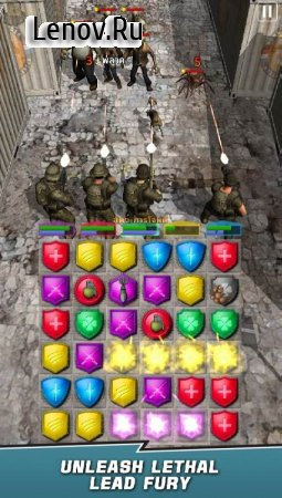 VDV MATCH 3 RPG: ZOMBIES! v 1.4 Mod (High Accuracy/DEF/Dex & More)