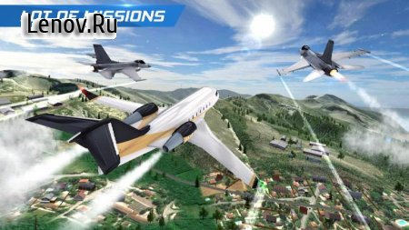 Airplane Flight Pilot Simulator v 2.0 Mod (Unconditional use of stars to unlock characters)