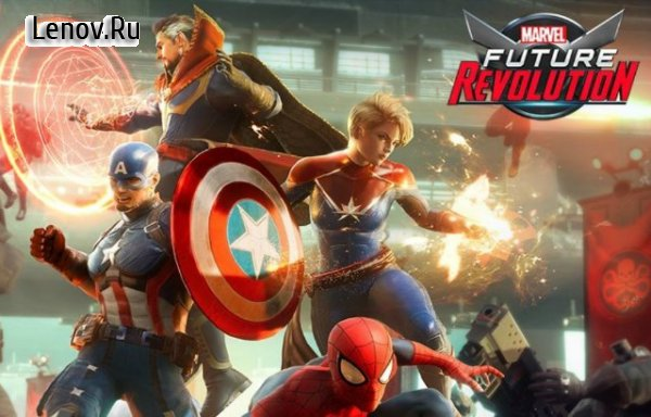 Анонс новой РПГ игры Marvel Future Revolution