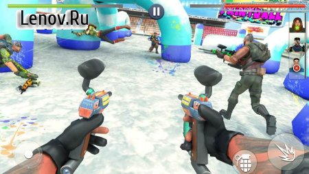 Paintball Shooting Squad: Battleground Army Combat v 5.1 Mod (Unlimited Coins/All Levels Unlocked)