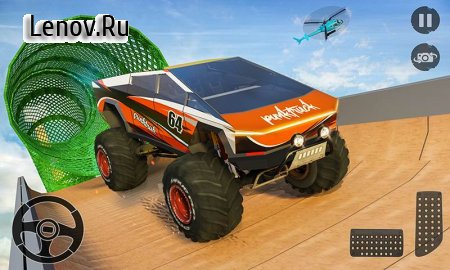 Monster Truck Mega Ramp Stunts Extreme Stunt Games v 1.2 (Mod Money/Unlocked)