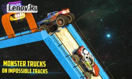 Monster Truck Mega Ramp Stunts Extreme Stunt Games v 1.2 (Mod Money/Unlocked)