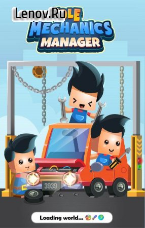 Idle Mechanic 3D - Manager Simulation v 1.11 Mod (Unlimited Gold/Diamonds)