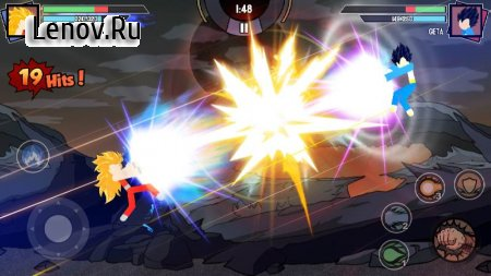 Stickman Warriors - Super Dragon Shadow Fight v 1.3.4 Mod (Unlimited Money/Gems/Unlocked)