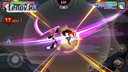 Stickman Warriors - Super Dragon Shadow Fight v 1.1.5 Mod (Unlimited Money/Gems/Unlocked)