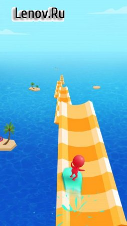 Water Race 3D: Aqua Music Game v 1.3.5 Mod (Unlimited Gems)